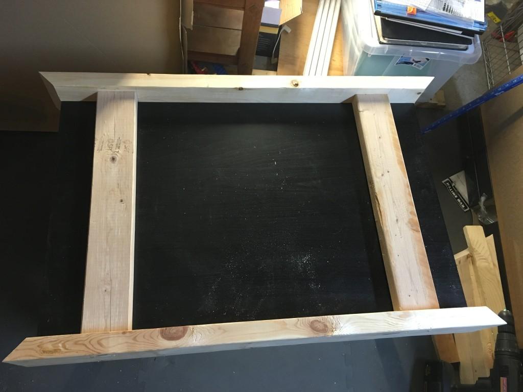 Assembling the frame 1